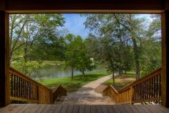 Loblolly Meeting Hall Facing Lake