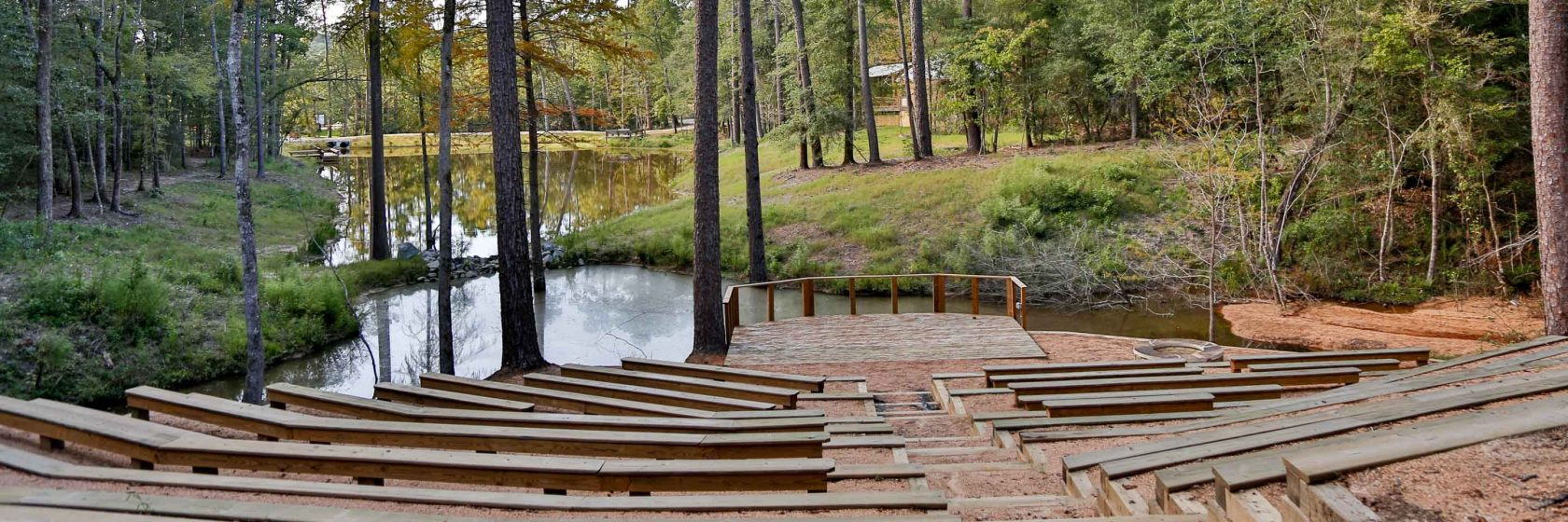 Cypress grove amphitheater for group rentals retreats at for Magnolia homes cypress grove